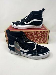 Vans SK8-Hi MTE Leather Black / True White Shoes men's us Size 10