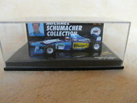 BENETTON RENAULT B 195 - MICHAEL SCHUMACHER - Maßstab 1:64 MS-COLLECTION Nr.16