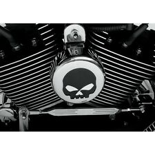 Skull Chrome Horn Cover FLHX Street Glide Road King Softail FXST Harley
