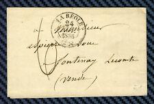 -== Lettre de LA RÉOLE (Gironde) pour FONTENAY-le-COMTE (Vendée) - 1835 ==-