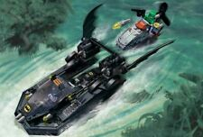 Lego 7780 Batman THE BATBOAT: THE HUNT FOR KILLER CROC 100% w/Instructions