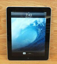 Genuine Apple (A1219) 64 GB 1st Generation iPad Wifi Capable Smart Tablet *READ*