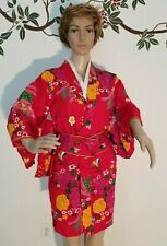 GEISHA JAPANESE ADULT WOMENS SMALL KIMONO HALLOWEEN COSTUME HAND MADE