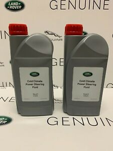 2X GENUINE LAND ROVER 1Ltr Cold Climate Power Steering Fluid STC50519