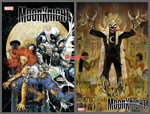 Moon Knight #4 Cover A B Variant Set Options 2021 Cassara McNiven Presale 10/27