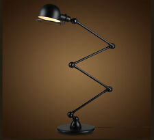 Designer Vintage french industrial style of  4 ARMS floor lamp