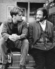 Good Will Hunting, Robin Williams Matt Damon 16x20 Canvas Giclee