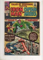 Tales of Suspense #61, 62 ORIGIN The MANDARIN! VG 4.0 Captain America, Iron Man!