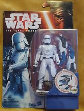 STAR WARS THE FORCE AWAKENS, FIRST ORDER SNOWTROOPER, HASBRO 2015, CARDED