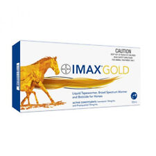 BAYER IMAX GOLD EQUINE LIQUID BROAD SPECTRUM HORSE WORMER 50mL