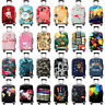 Printed Travel Suitcase Protective Cover Luggage Protector Elastic Dust proof A3