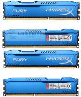Für Kingston HyperX 8 GB 16 GB 32 GB DDR3 1866 MHz PC3-14900 Desktop RAM Blau