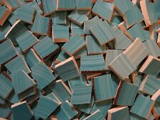 Striated Turquoise 190 Broken Mosaic China Plate Tiles