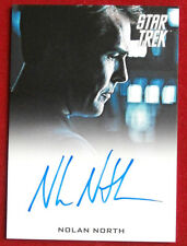 STAR TREK INTO DARKNESS - NOLAN NORTH, LIMITED EDITION Autograph Card 2013