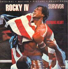 """SURVIVOR – Burning Heart (ROCKY IV / 1985 VINYL SINGLE 7"""" HOLLAND)"""