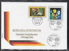 C 26 ) Germany fantastic Cover 1996 - Bor. Dortmund  German Soccer Champion