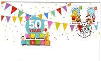 "2016 FDC. Australia. 50 years Play School. Star PictFDI ""HUMPTY DOO"""