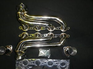 CHEVROLET HOLDEN LS1 POLISHED STAINLESS UNIVERSAL ENGINE SWAP EXTRACTORS (084)