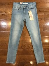Women's Size 24in Levi's 711 Skinny Jeans Light Wash Mid Rise