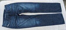 Diesel Men's Waykee Jeans Wash 00N73 Distressed Button Fly 30x32