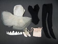 1961 vintage Mattel Barbie BALLERINA outfit 989 nice ballet dress tutu pointe !!