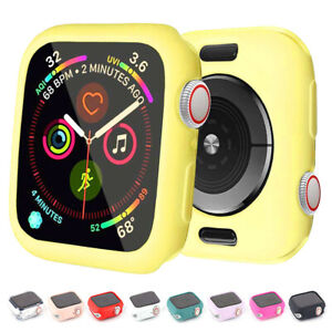 For Apple Watch 5 4 3 2 1 Bumper Silicone Protector Case Cover 38/40/42/44mm