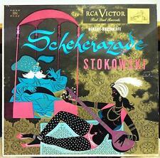 LEOPOLD STOKOWSKI rimsky-korsakoff scheherazade LP VG+ LM-1732 Mono RCA USA 50s