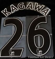 Manchester United Kagawa 26 Name/Number Set Football Shirt Lextra 07-13 Away