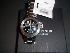 VICTORINOX 24524 SWISS ARMY MAVERICK CHRONOGRAPH BLACK DIAL MEN'S WATCH