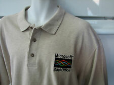 Microsoft Back Office computer server software shirt vintage 1990's tech 2xl