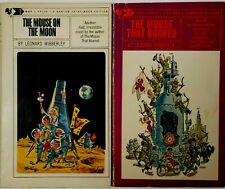 Leonard Wibberley The Mouse that Roared & The Mouse on the Moon