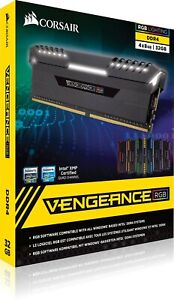 CORSAIR VENGEANCE RGB 32GB (4X8GB)