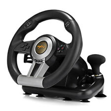 PXN V3II Racing Game Steering Wheel with Brake Pedal For PC PS3 PS4 & Xbox One