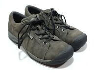 Keen Reisen Lace Womens Athletic Walking Oxford Shoes Brown Size 8