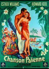 affiche du film CHANSON PAIENNE 120x160 cm