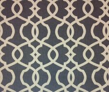 """MAGNOLIA HOME EMORY PEWTER GRAY TRELLIS FURNITURE FABRIC BY THE YARD 54""""W"""