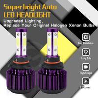 1800W CREE COB 9007 HB5 LED Headlight Kits Hi/Lo Beam Canbus Bulb 6000K 270000LM