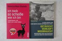 2 Bücher Claudia Berker Getäuscht Verkauft Missbraucht Rebecca Niazi Shahabi B36