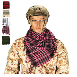New Unisex  Army Military Tactical Keffiyeh Arab Scarf  Nylon Warm Winter