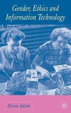 Gender, Ethics and Information Technology