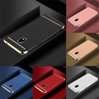 For Samsung Galaxy J3 J5 J7 Pro Shockproof Electroplate Hard Back Case Cover New