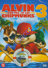 ALVIN AND THE CHIPMUNKS 3 - CHIPWRECKED - DVD - NIEUW SEALED