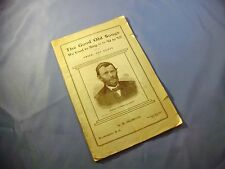 Oldroyd THE GOOD OLD SONGS We Used to Sing '61 to '65 Civil War Songbook 1902 GC