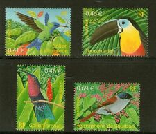 SERIE TIMBRES 3548-3551 NEUF XX LUXE  - OISEAUX D'OUTRE-MER
