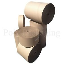 More details for corrugated paper roll 10 widths(300-1500mm) any qty/lengths cardboard packaging