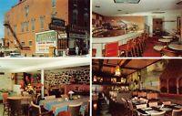 Postcard Multiple Views of Bassett Restaurant in Angola, Indiana~129080