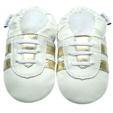 Soft Sole Leather Baby Shoes Toddler Children Gift Infant Kids SportWhite 30-36M