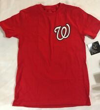 Majestic Boys Medium M Red Bryce Harper Washington Nationals Jersey Shirt  MLB c95b53d3f
