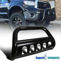 "For 2007-2020 Toyota Tundra Sequoia 3"" Black Bull Bar Push Guard+Skid Plate"