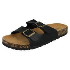 Softwaves 174001 uomo pantofole sandali 2er cinghie pantofole blu scuro